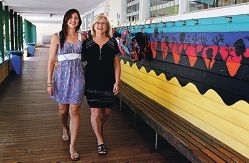 WA Education Awards finalists, early childhood teacher Erin Russell and principal Karen Duncan. Picture: Elle Borgward www.communitypix.com.au d410474
