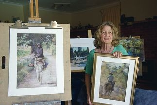 Helen Rodda is the feature artist at the Pastel Society of WA's exhibition and sale.