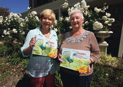 Popples and friends have been very special for mother-daughter duo Cheryl Wilson and June Round. Picture: Matt Jelonek www.communitypix.com.au d409583