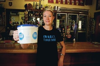 Angelina Buckton is one of Yanchep Inn's Bartenders, one of her coworkers has been entered into the Leukaemia Foundation's U.G.L.Y Bartender of the year