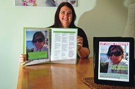 Sharon Jones has developed a new app. d409320