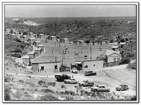 The way we were: The Seaside Gardens Caravan Park in Mullaloo in the 1950s.