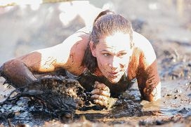 A competitor in a previous Tough Mudder event.