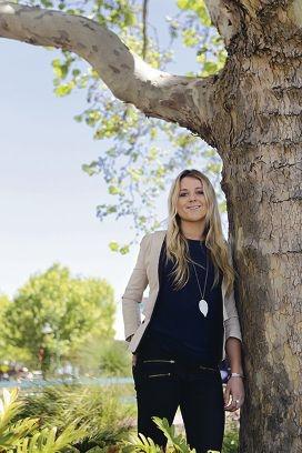 Western Australia's Young Australian of the Year nominee Naomi Henn.