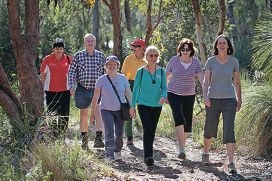 Rita Gray, Maurie Sparkman, Laureen Brown, Peter Charles, Diane Lomas, Mary-Anne Young and Diana Fisher. Picture: Bruce Hunt www.communitypix.com.au d409530