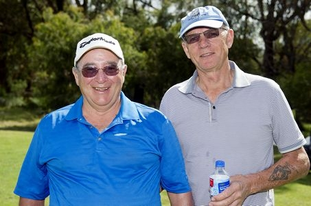 From Left: Don Macphail, Chas Dicker-Lee at Yanchep RSL Golf fundraiser