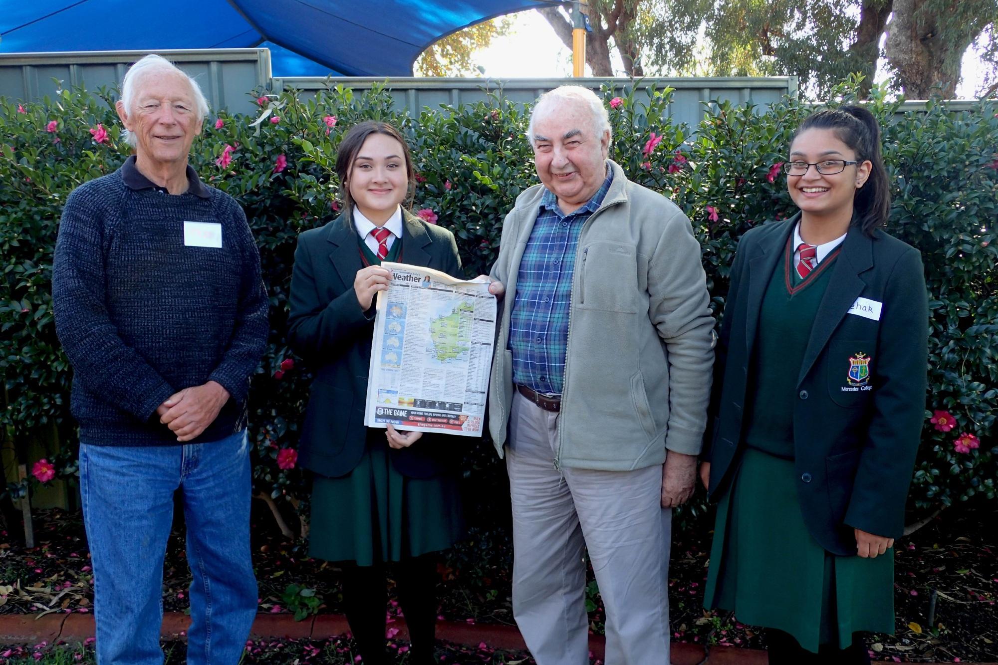 Ted Edwards, Natasha Webb, Kevin Bean and Mehak Satnan.
