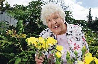 Val Oliver wants to do a lot more gardening with husband Olly.