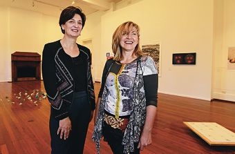 Andrea Wood and Renata Niderla. Picture: Elle Borgward www.communitypix.com.au d409398