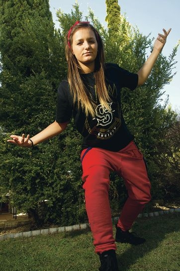 Rebecca Foyle is competing in the world hip-hop championships next month.d410046