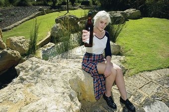 Event organiser Cassie Rees is looking forward to the beer and cider festival in Joondalup. Picture: Emma Reeves www.communitypix.com.au d409701