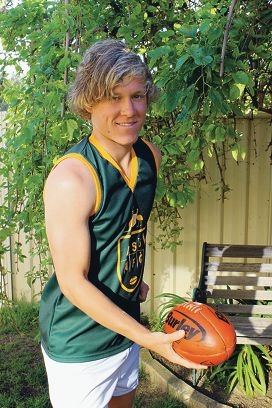 Michael Humble is aiming for the AFL.
