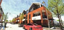 The proposed Beaufort Street and Tenth Avenue building.