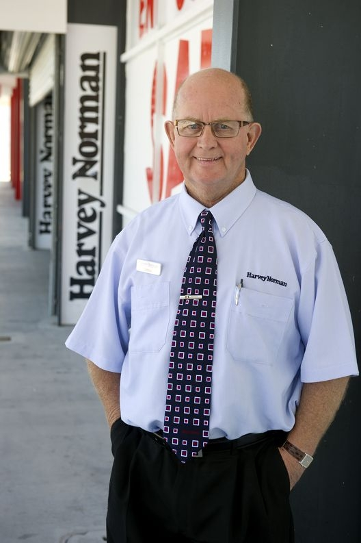 Long term Harvey Norman employee Ernie Mayes. Picture: Emma Reeves