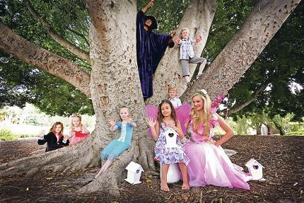 Fairies and wizards will weave their magic at the 2013 Little Hands Festival