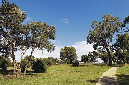 Harry McGuigan Park. Picture: Elle Borgward www.communitypix.com.au d409239
