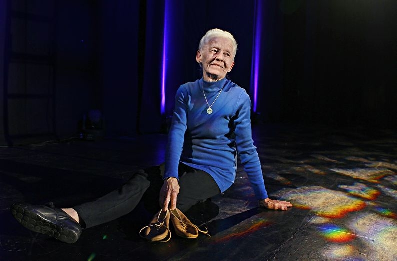 Lust for life... Charmaine Marangoni still enjoys dancing at age 81. Picture: Elle Borgward d409093