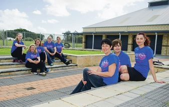 Gatsby Gals, they are a group of teachers who are doing a 60km walk to raise money for Women's cancer research