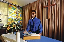 Osborne Park Hospital chaplain Sheldrin D'Rozario [NAME OK]