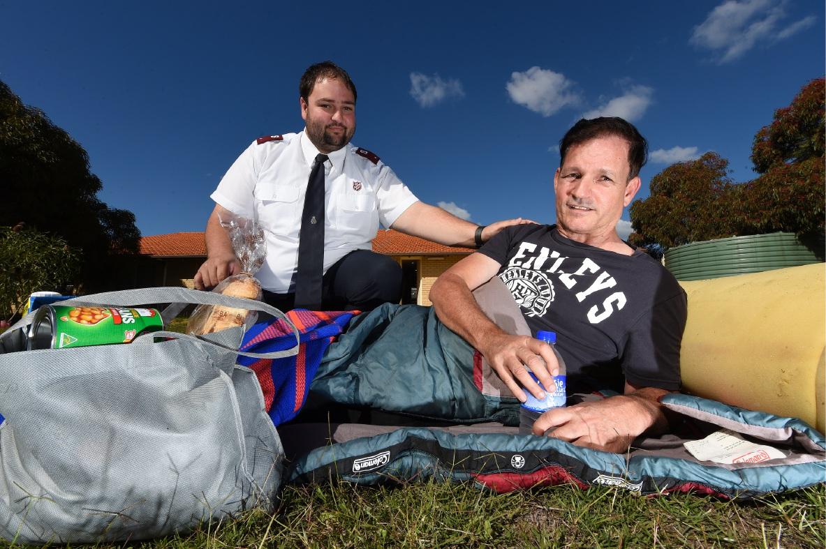 Lieutenant Ronald Stobie and Chris Hands Picture: Jon Hewson d454215