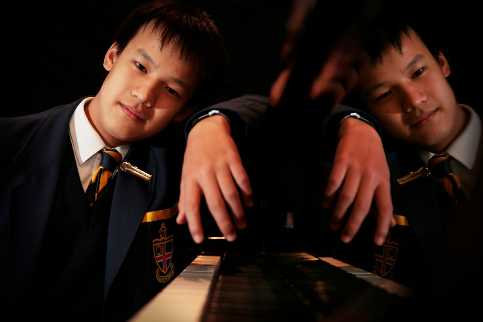 Carlisle's Daniel Mah (13) spends hours every day practices piano.