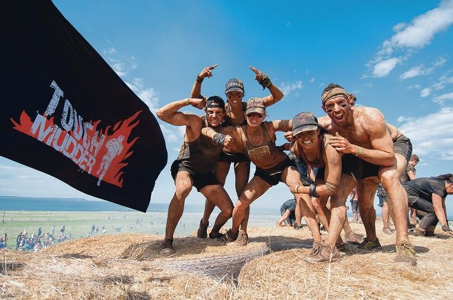 Up to 20,000 Tough Mudders will flock to Bakers Hill for what organisers hope will become an annual event. Picture: Rob Daniels.