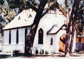 The old parish church of All Saints Gosnells was built in 1913.