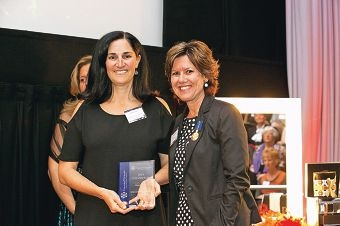 Autism Mum's Group founder Heidi Brandis and Medal of the Order of Australia recipient Lee-Ann Smith.
