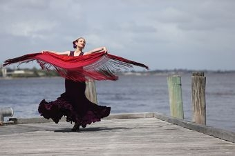 Spanish dancer Sophy Pratt will perform at a lunch fundraiser on October 6. Picture: Andrew Ritchie www.communitypix.com.au d407476