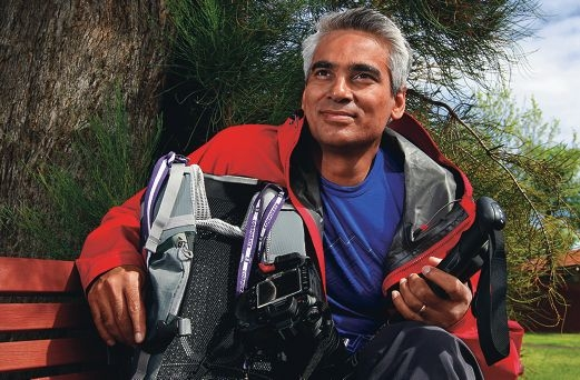 Sanjay Gonsalves will trek to the base of Mt Everest.