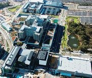 Fiona Stanley Hospital is 90 per cent complete.