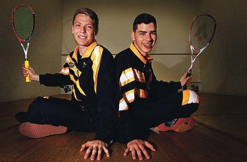Dayne Gruenthal and Josh Fiorentino. Picture: Elle Borgward d407180