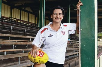 Michelle Cowan is passionate about sport, but football will always be her first love.