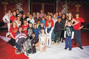Circus-goers help raise funds