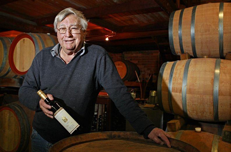 Proud Peel Estate Winery head winemaker Will Nairn. Picture: Elle Borgward www.communitypix.com.au d407629