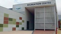 The Northam Recreation Centre (inside, above; and outside, below) must now have designated smokers areas.
