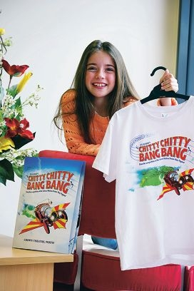 Chloe Walker is appearing in the ensemble of Chitty Chitty Bang Bang. Picture: Emma Reeves d408002