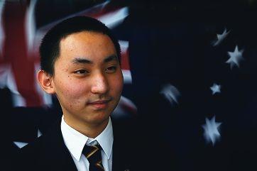 Perth Modern School head boy Johnson Ye. Picture: Andrew Ritchie www.communitypix.com.au d407213