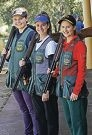 Shooters Catherine |Skinner, Laetisha Scanlan and Laura Coles. d407226