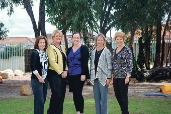 Duncraig teachers Heather King, Jo-Anne Urquhart, Rosalie Brades, Sally McAlpine and Kate Hilder have received bravery awards for protecting children in their care.