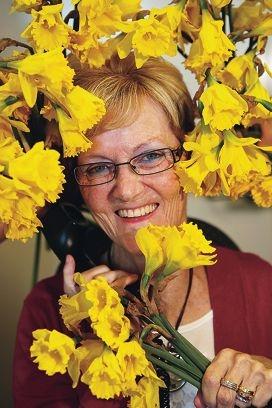 Cancer Council helpline nurse Jill Adams. Picture: Andrew Ritchie www.communitypix.com.au d405967
