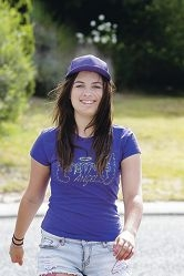 Shannon Doody finds her stride ahead of the Walk to Cure Diabetes. Picture: Martin Kennealey d390429