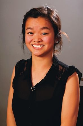 High hopes: Hope Taylor, of Cloverdale, is one of three finalists for the prized award.