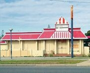 The abandoned KFC building on Patterson Road, Rockingham.