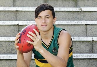 Sam Powell-Pepper has a good grip on the game of football. Picture: Martin Kennealey www.communitypix.com.au d406282