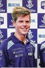 Jesse Kitson got a chance to Live the Dream at the Fremantle Football Club.