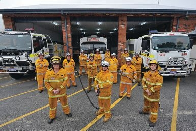 The Baldivis Volunteer Bushfire Brigade is searching for new members. Picture: Jon Hewson d405790