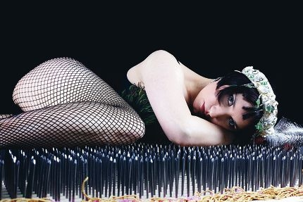 Emerald Mamba will perform a snake dance on a bed of nails tomorrow night for Telethon.