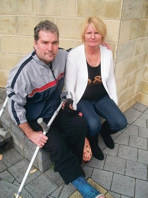 Jason and Sue Sellick said they were disgusted at their treatment by police.