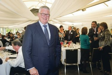 Troy Buswell at the post-budget lunch at Joondalup Resort.